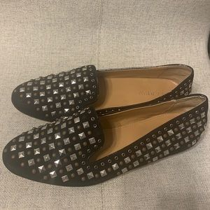 J.crew studded loafer.